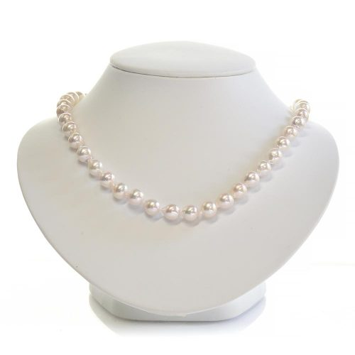 Japanese Akoya Baroque Pearl Necklace
