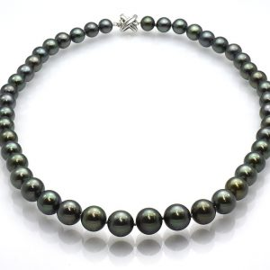 Black Tahitian Pearl Necklace