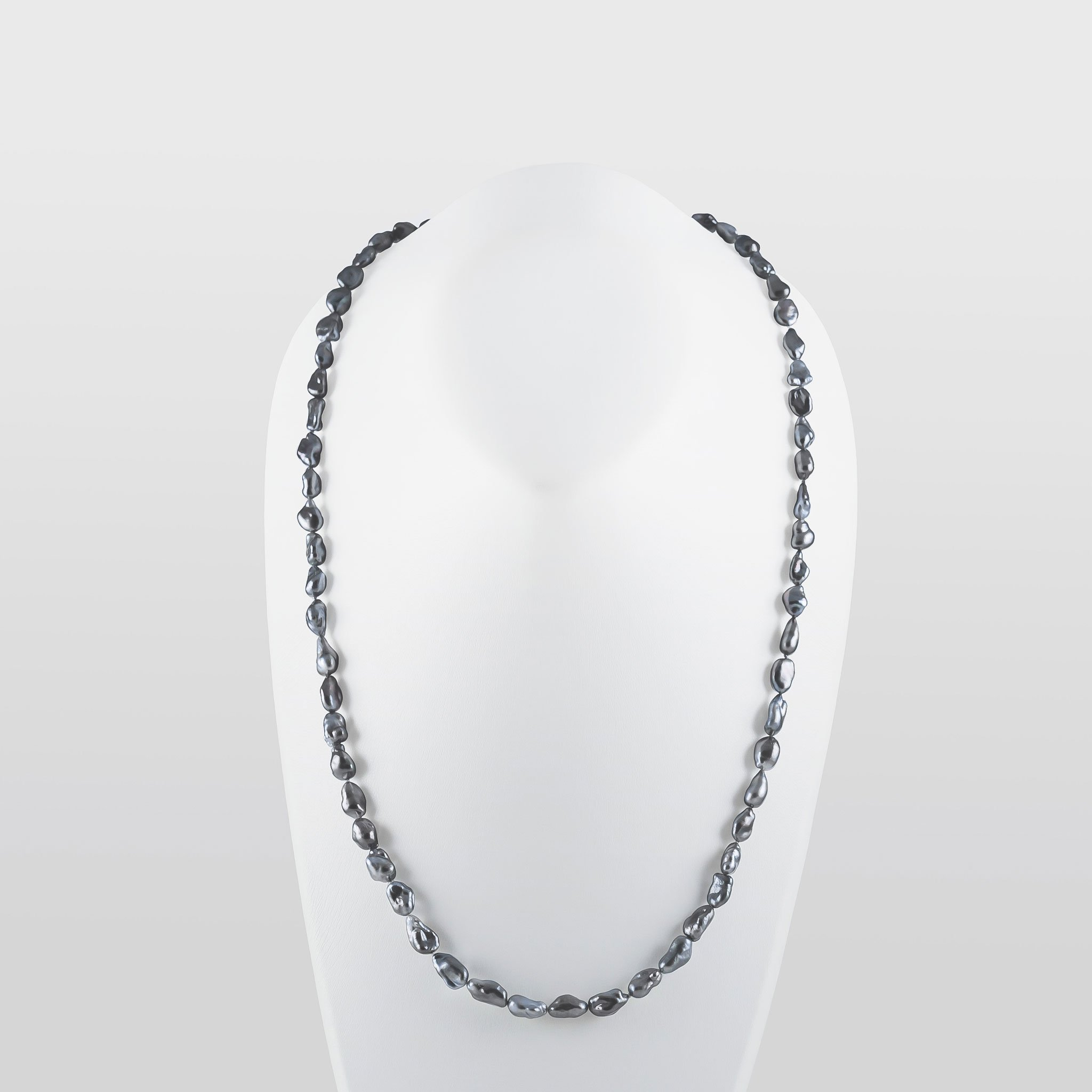 Tahitian Natural Keshi Pearl Necklace