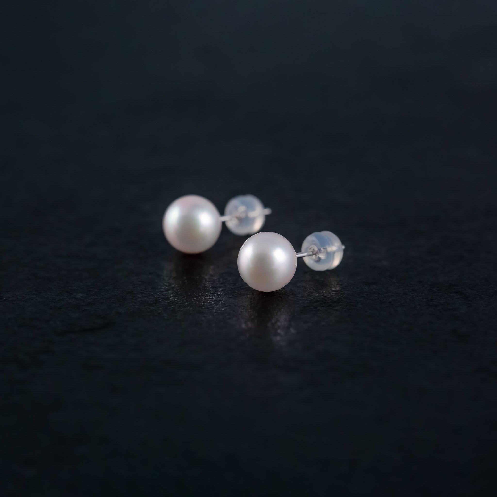 Japanese Akoya Stud Pearl Earrings