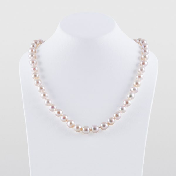 Japanese Akoya Baroque Akoya Pearl Necklace