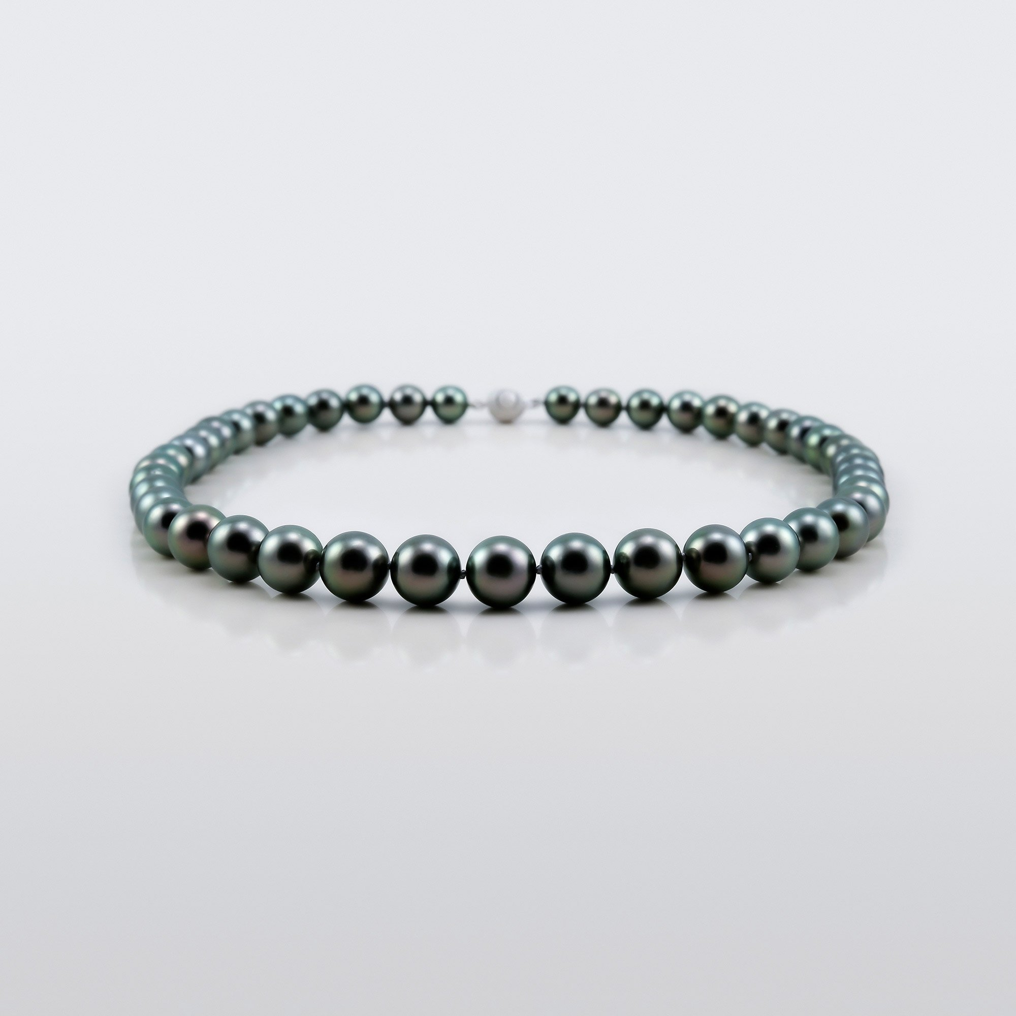 Asteria, Black Tahitian Pearl Necklace Asteria