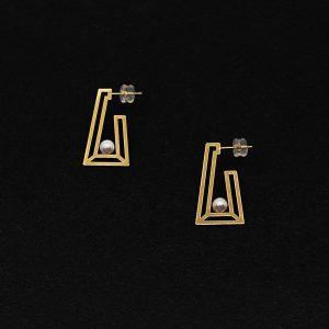 Japanese Akoya Pearl Earrings AAA