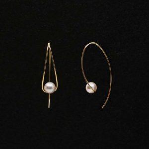Japanese Akoya Pear Earrings AAA